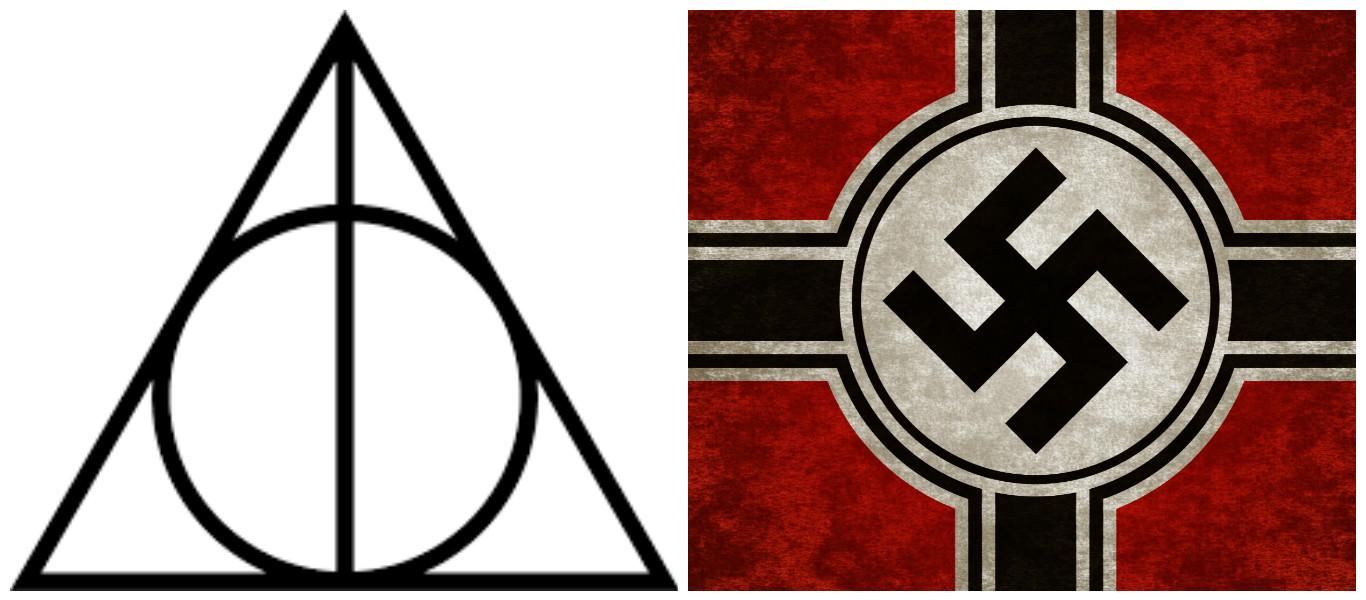deathly swastika