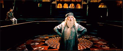annoyed dumbledore