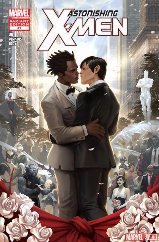 gay xmen wedding