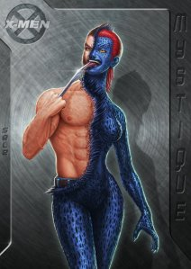 mystique to wolverine