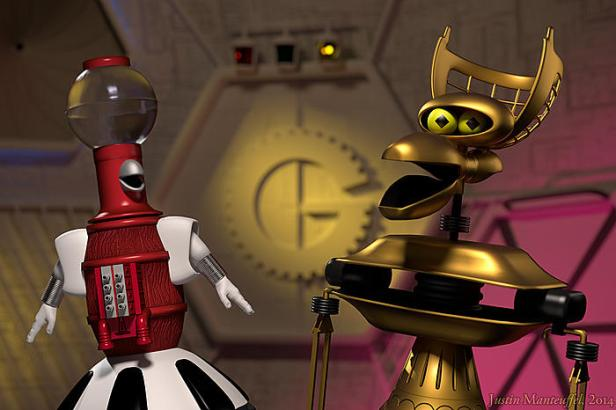 tom servo and crow