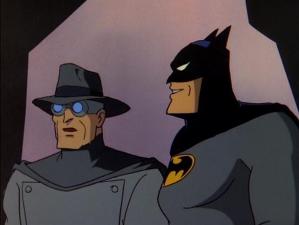 batman gray ghost