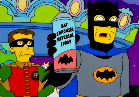 simpsons batman