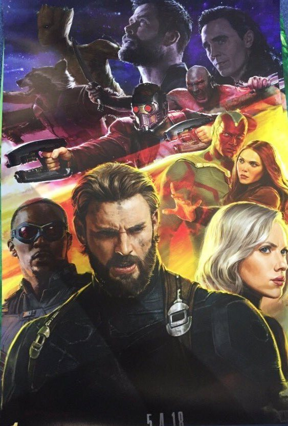 infinity war concept captain