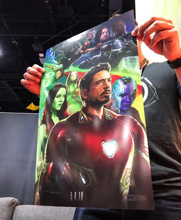 infinity war concept iron man