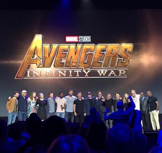 infinity war cast d23