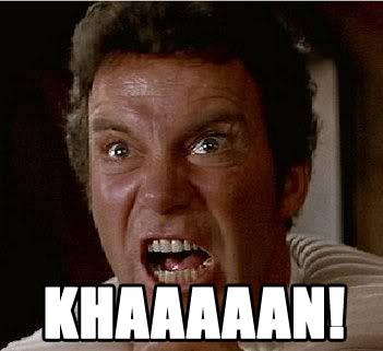 kirk yelling khan