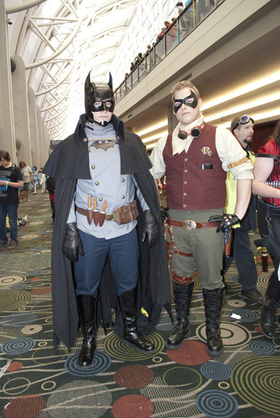 gotham by gaslight batman and robin