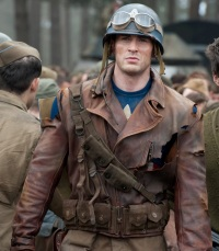 first avenger with jacket