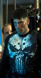 """NEW YORK, NY - APRIL 12: Jon Bernthal filming Marvel's """"The Punisher"""" on April 12, 2017 in New York City. (Photo by Steve Sands/GC Images)"""