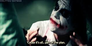 joker part of the plan