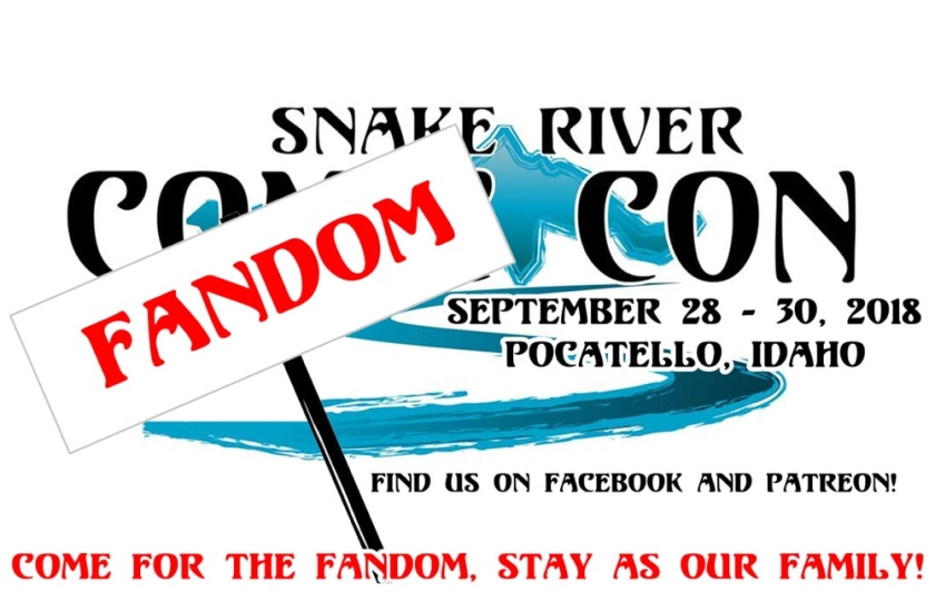 Snake River Fandom Con 2018 – The Nerdd