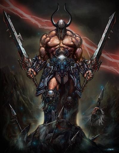 c8342cb5d7f7d0cc0bdee4d53a1064fa-creature-fantasy-fantasy-warrior