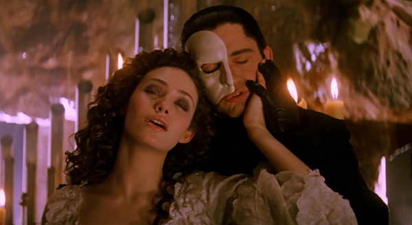 Image result for phantom of the opera 2004""