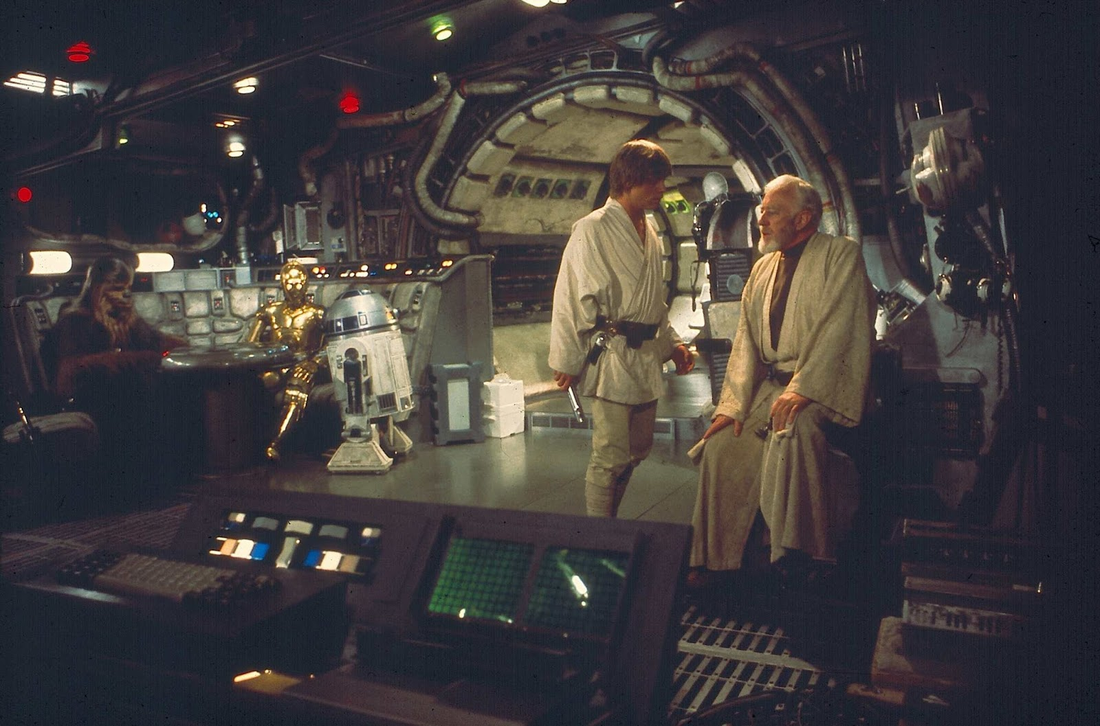Image result for obi wan millennium falcon