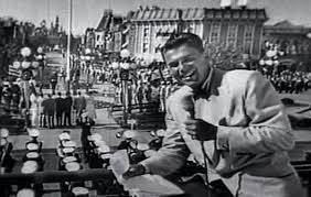 Ronald Reagan Reports on the Opening Day of Disneyland, 1955. from Weird  Hollywood | Disneyland, Disney memories, Disneyland opening day