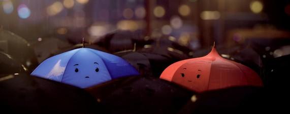 "Pixar's Latest Short ""The Blue Umbrella"" - Sneak Peek and History | Pixar  Post"