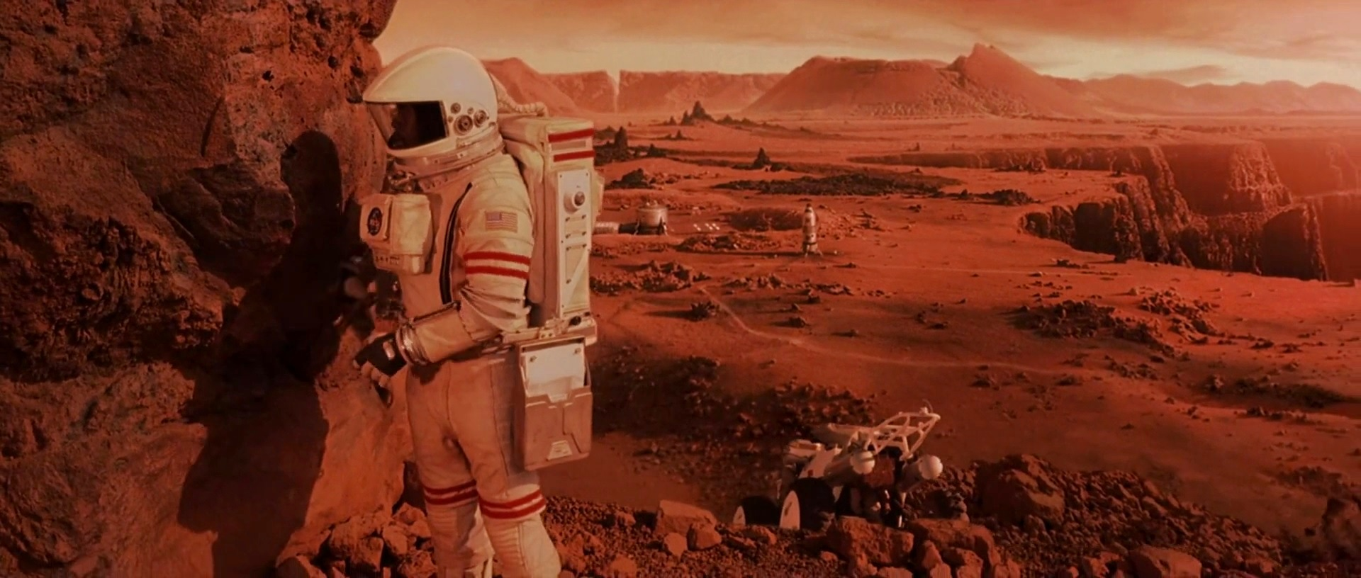 HD images from Mission to Mars (2000) movie   human Mars